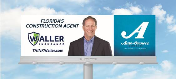 Waller Insurance Billboard